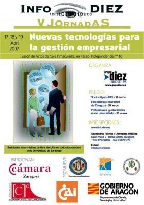 V Jornadas InfoDIEZ: Nuevas Tecnologías para la Gestión Empresarial